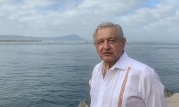 AMLO manda condolencias a Marcelo Ebrard por la muerte de su padre