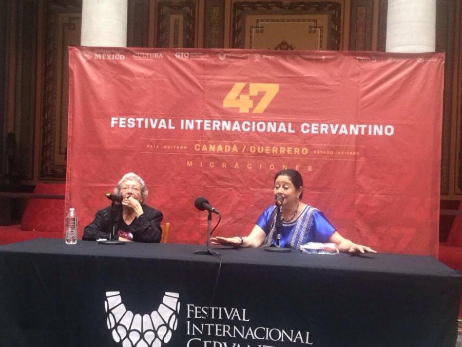 Angélica Aragón cuenta la verdadera historia de La china poblana en el Cervantino
