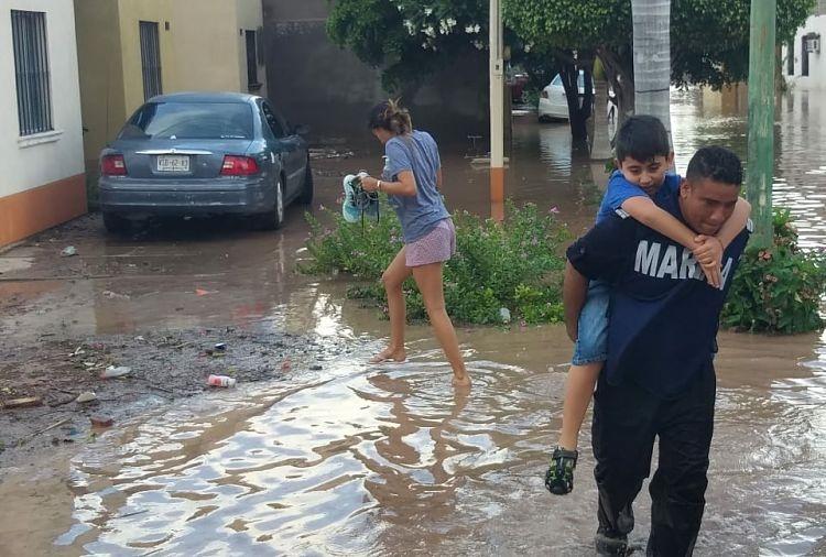 Suspenden clases en 12 municipios de Sonora por lluvias