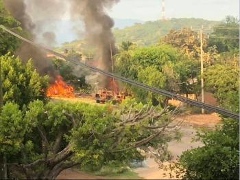 Revelan momento de la emboscada contra policías en Michoacán