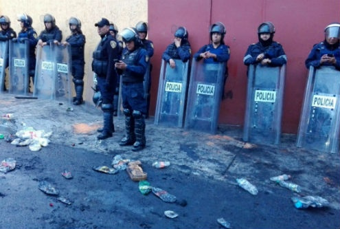 Se registran 17 lesionados en Álvaro Obregón por desalojo