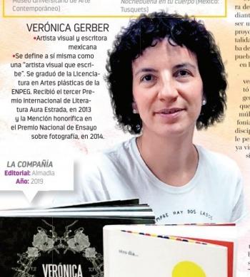 Vivimos una época caligramática: Verónica Gerber Bicecci