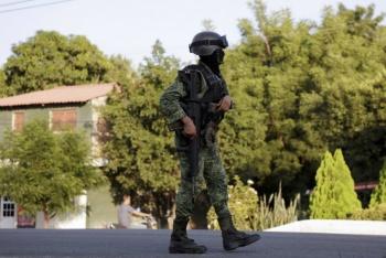 Despliega Sedena más militares tras emboscada en Aguililla