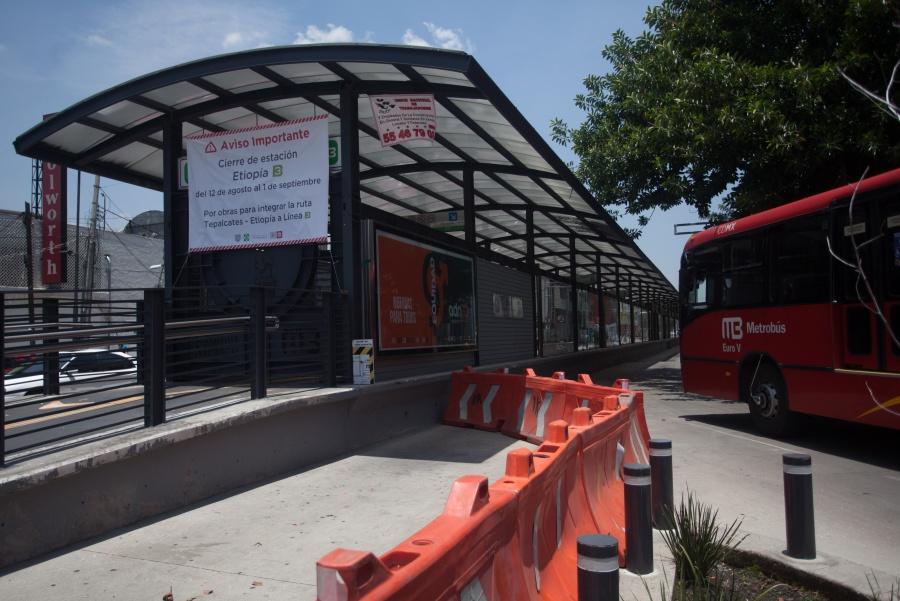 Inician obras de ampliación de la línea 3 del Metrobús CDMX