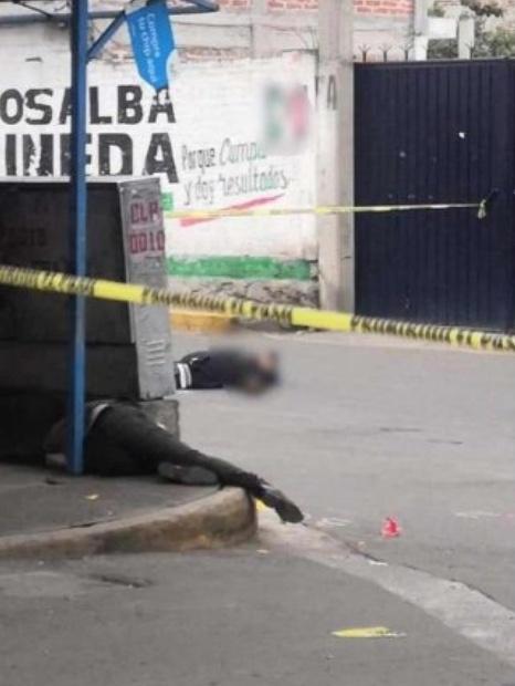 Sujeto abate a ladrones durante asalto en Chicoloapan