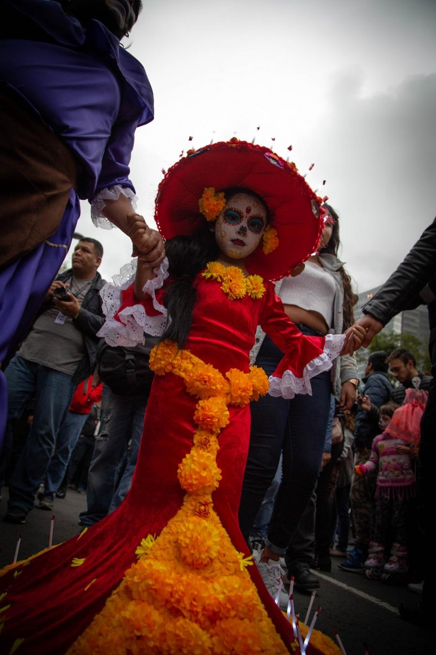 El 26 de octubre, la megaprocesión de Las Catrinas en la CDMX