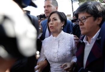 Rosario Robles reitera su inocencia y pide justicia