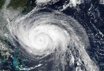 El Ciclón Tropical Potencial 17-E tocó tierra a las 10 horas