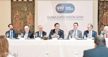 Guanajuato apuesta por más inversión extranjera