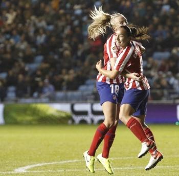 Charlyn Corral salva al Atlético de Madrid ante el City en la Champions Femenil
