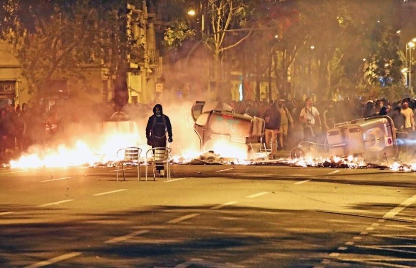 Madrid y Barcelona miden fuerzas en las calles