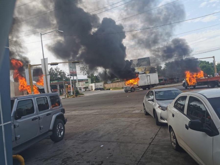 Al menos nueve heridos tras enfrentamientos en Culiacán