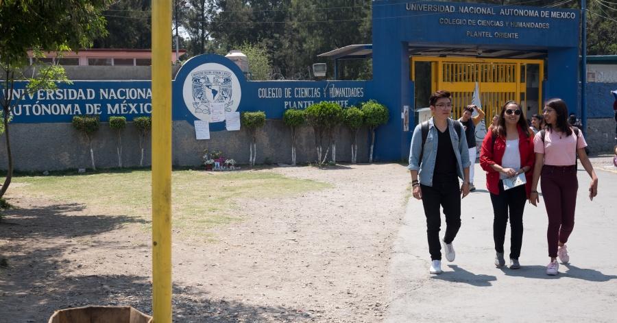 Recuento de hechos de violencia en los CCH's de la UNAM este año