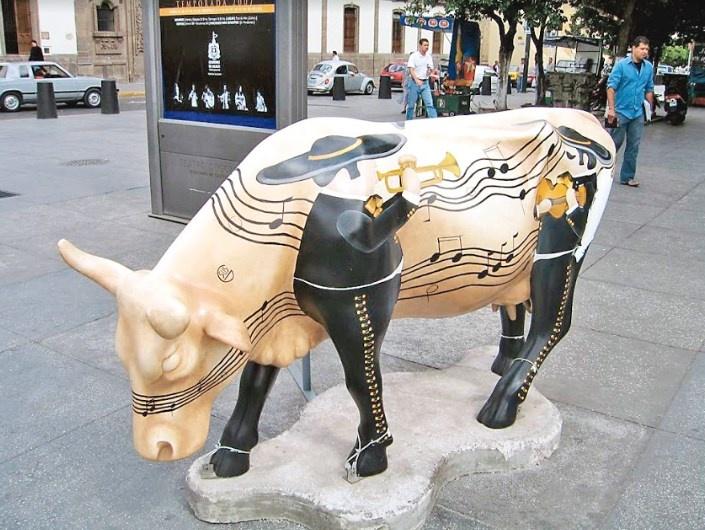 Cow Parade alista su regreso a CDMX con megaexpo bovina