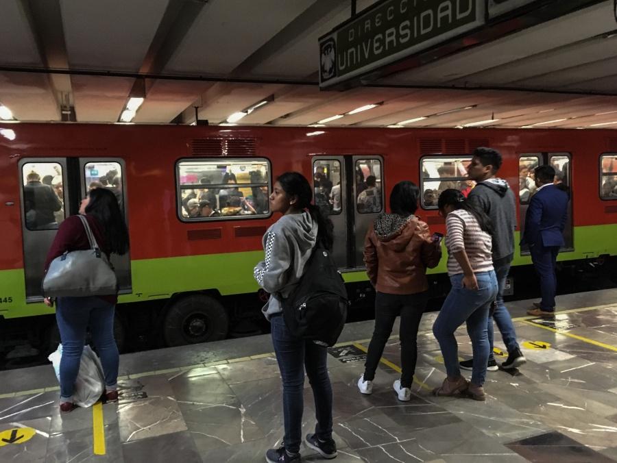 Activan marcha de seguridad en el Metro de CDMX por lluvias