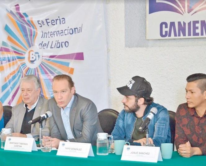 Anuncian Feria Internacional Del Libro Benito Juárez