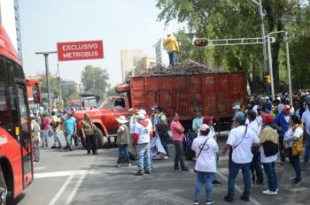 Alertan por ocho movilizaciones en la capital este jueves