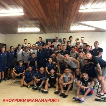 Jugadores del Veracruz muestran unidad en redes sociales