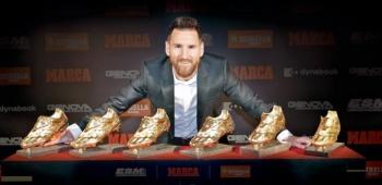 Con 6 Botas de Oro, Lionel Messi conquista la década
