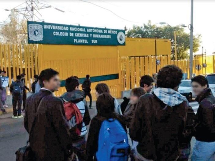 Realizan paro en CCH Sur por denuncia de violación