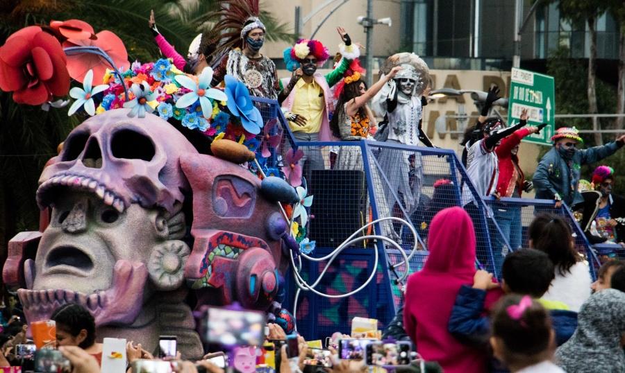 Domingo 27, 4a edición del Desfile de Muertos de la CDMX