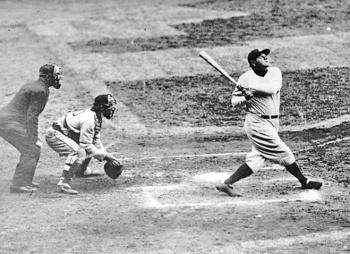 Por 1 mdd, ponen en subasta el bate del jonrón 500 de Babe Ruth
