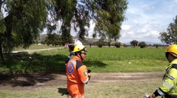 Reportan fuga de gas LP en Tepeaca, Puebla