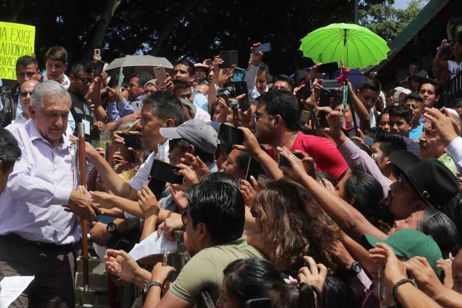 Conservadores convirtieron a México en un cementerio: López Obrador