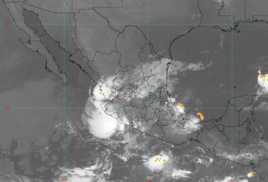 Tormenta tropical Priscilla llegará en breve a Colima