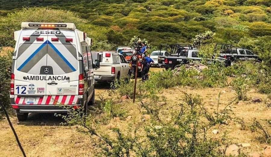 Dos personas mueren al caer un pequeño avión en Querétaro