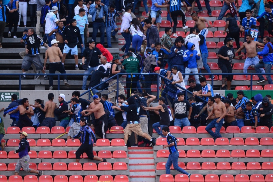 Juego San Luis-Querétaro fue suspendido por falta de garantías