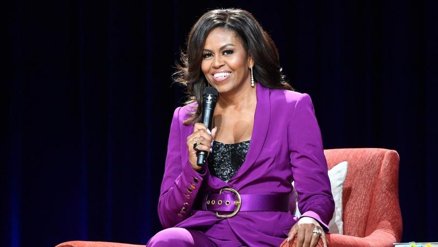 Michelle Obama muestra su impresionante forma física