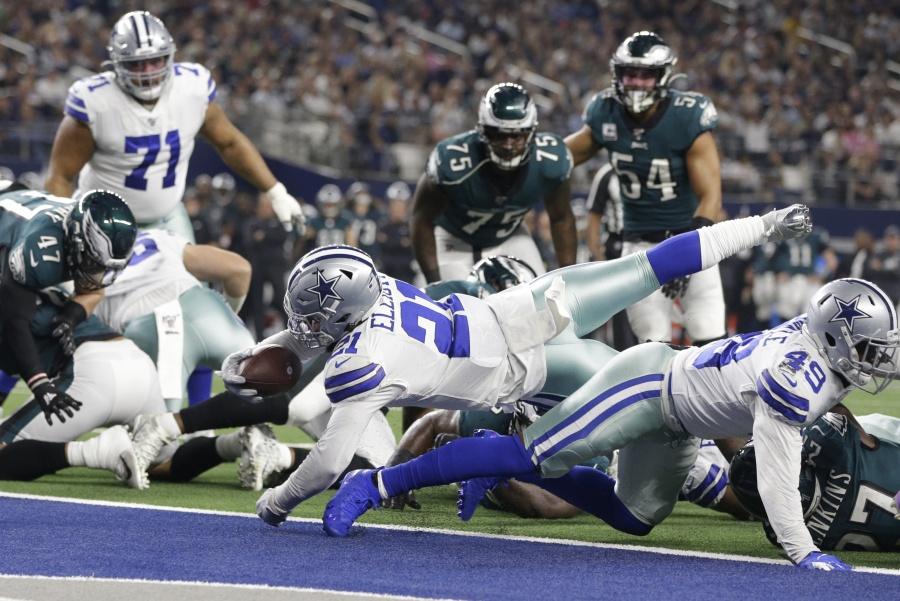 Vaqueros dominan a Filadelfia y lideran su división en la NFL