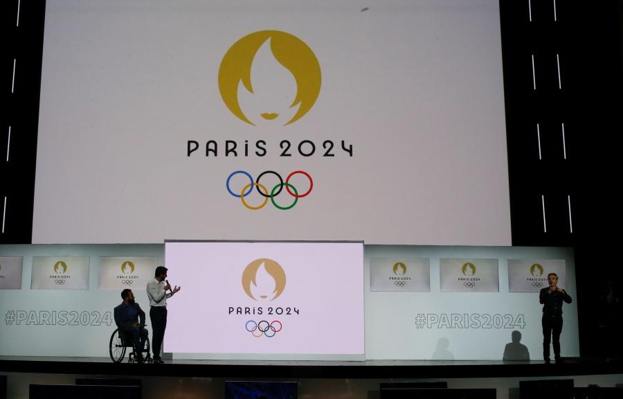 Presentan el logo oficial de los Juegos Olímpicos de París 2024