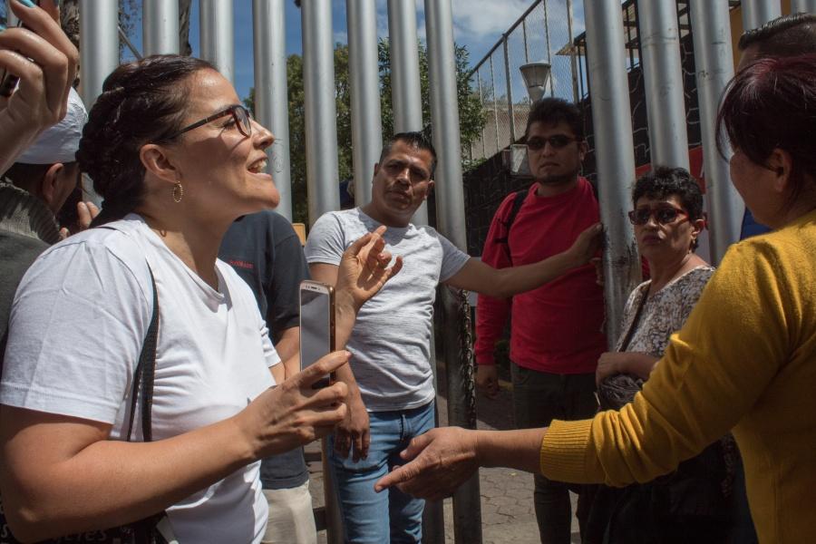 Descarta AMLO opinar sobre violencia en asambleas de Morena
