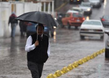 El Valle de Meacutexico registraraacute este lunes lluvias con intervalos de chubascos las cuales podriacutean estar acompantildeadas de descargas eleacutectricas