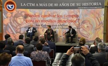Carlos Aceves Del Olmo podría dejar la CTM por problemas de salud
