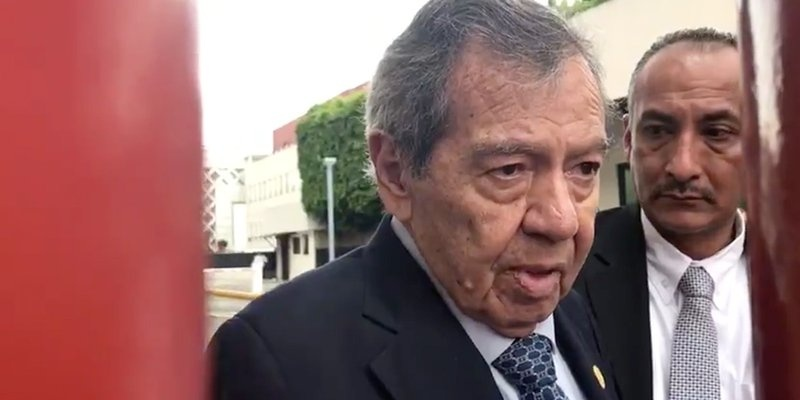 Porfirio Muñoz Ledo pidió permiso especial para salir de San Lázaro
