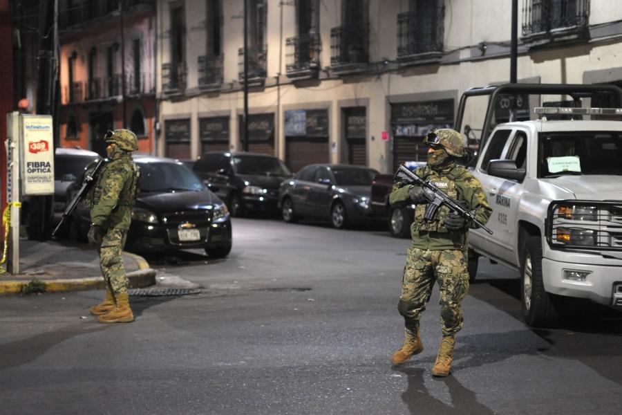 Ejecuta Marina fuerte operativo en Tepito; caen 36 de la Unión