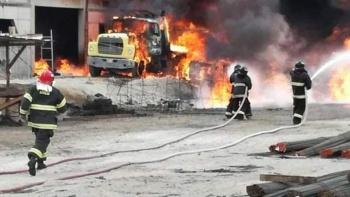 Reportan explosión en Industria Militar en Puebla