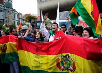 Estallan protestas en Bolivia; opositores acusan fraude electoral