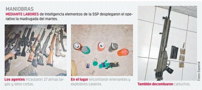 SSP detiene a 30 de una célula delictiva en Puebla