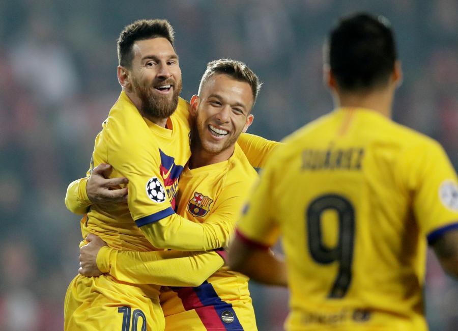 Barcelona, Inter, Napoli y Liverpool consiguen el triunfo en la Champions