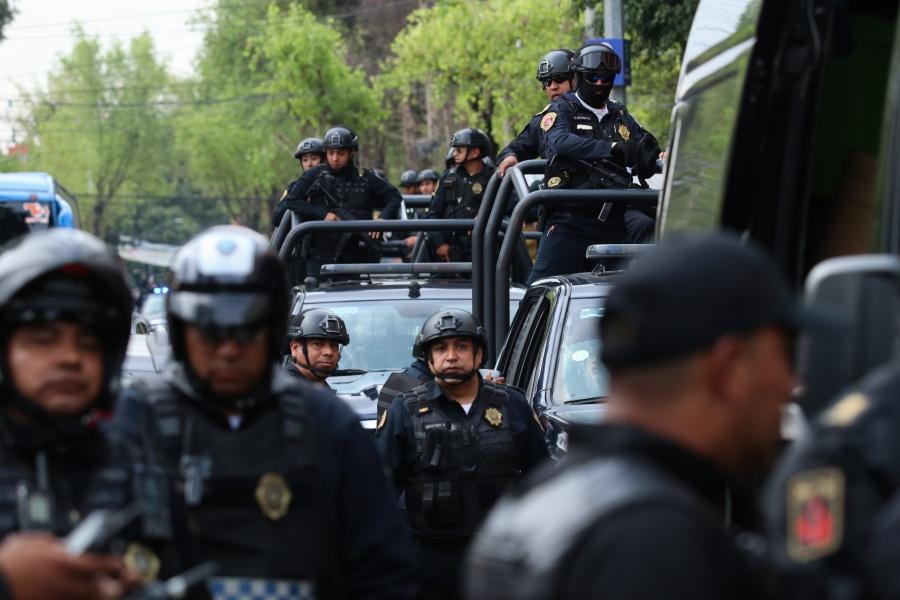 Trasladan a los 31 detenidos en Tepito a subdelegación de la FGR
