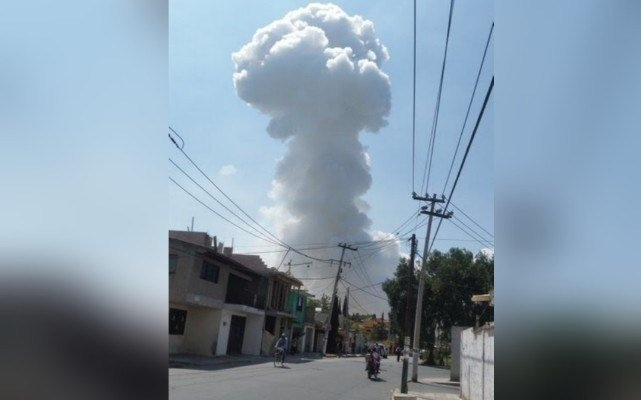 Dos muertos y seis heridos por la explosión en Zumpango