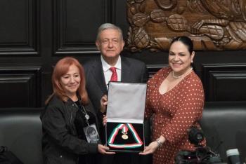 Cumpliré con el encargo de Rosario Ibarra, encontraré a los desaparecidos: AMLO