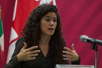 Luisa María Alcalde da a conocer la ubicación de su nueva oficina