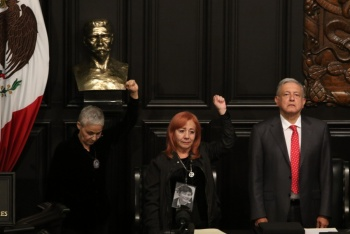 Rosario Ibarra deja la Belisario Domínguez en custodia del Presidente
