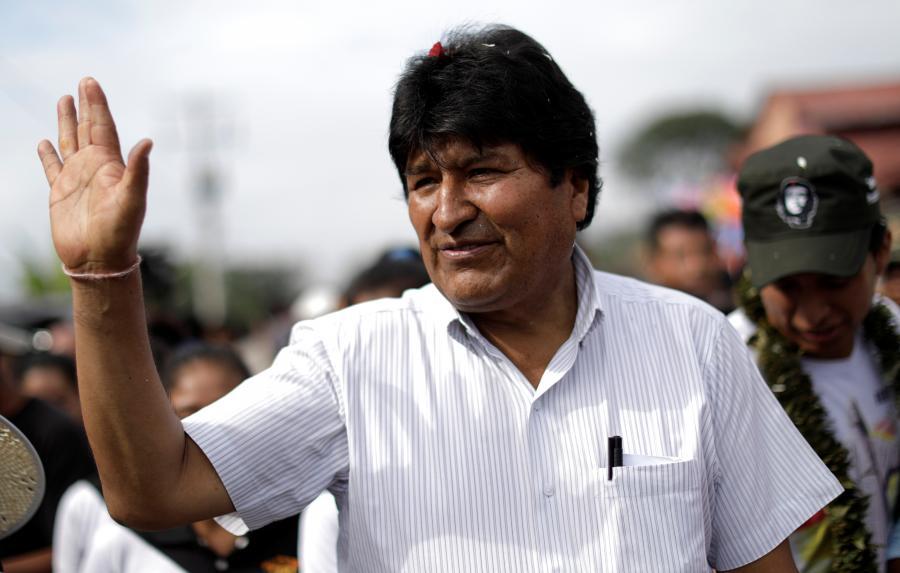 """Evo Morales: """"Ya ganamos en la primera vuelta de elecciones en Bolivia"""""""