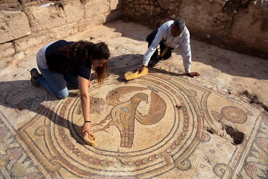 Desentierran antigua iglesia de misterioso mártir en Tierra Santa